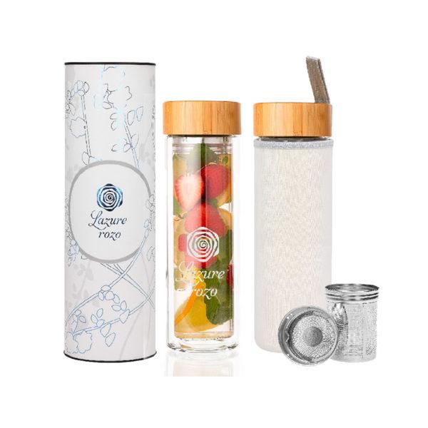Butelki termiczne z zaparzaczem Vitro Lazuro
