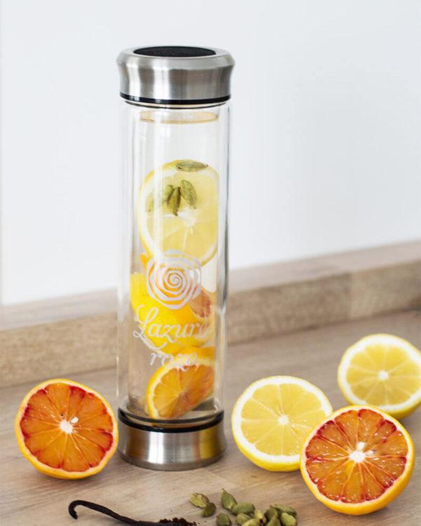 Butelka termiczna Vitro Rozo na owoce