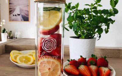 Zdrowie w smaku – naturalna woda z cytryną – przepisy
